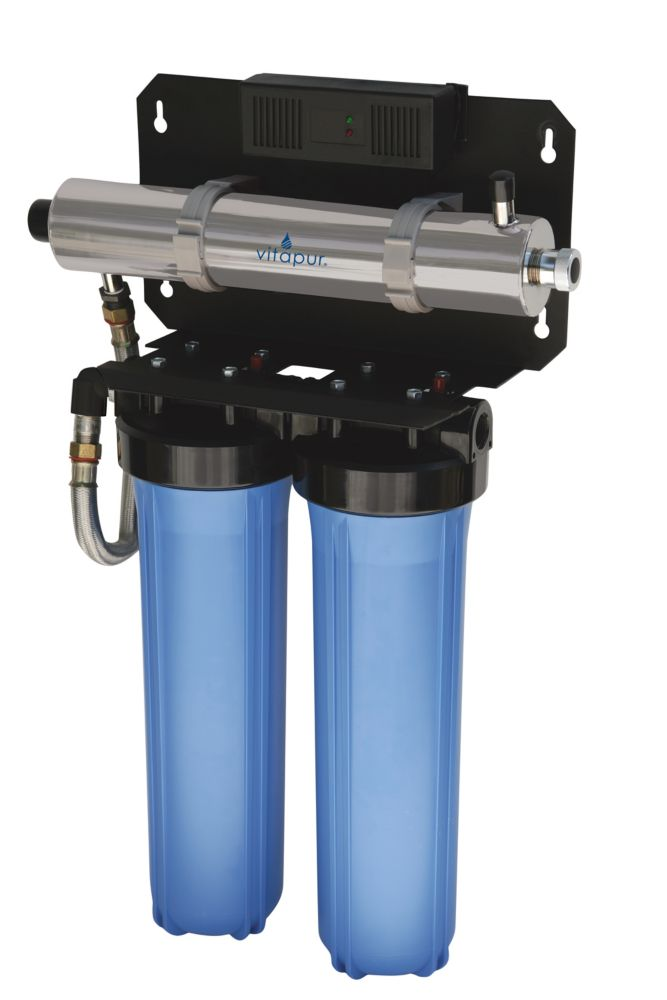 Ultraviolet Whole Home Water Disinfection Rack System